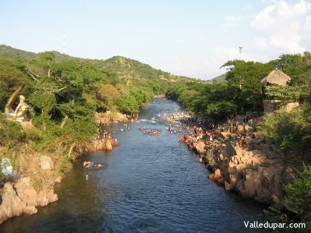 El Río Guatapuri...Valledupar Colombia