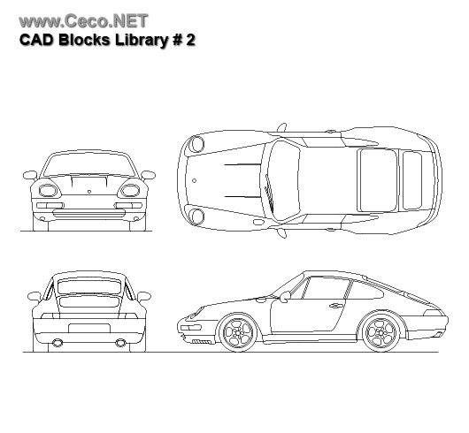 71 best images about autocad blocks on pinterest block for Cad car plan
