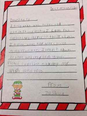 9 best letter to santa images on pinterest dear santa grade 2 its that time of the year when kiddos all over are making their wish lists and sending them on to santa in our classes this week we had t spiritdancerdesigns Image collections