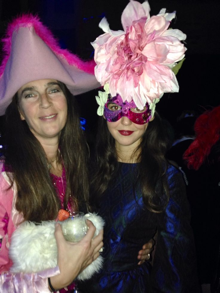 Behind the Mask: Inside Margherita Missoni's Carnival-Themed Birthday Party  - Bianca and Viola Arrivabene-Wmag
