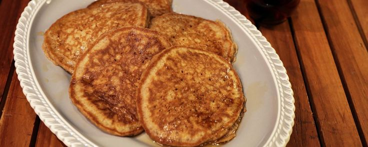 Peach-Apple Whole Wheat Pancakes Recipe | The Chew - ABC.com