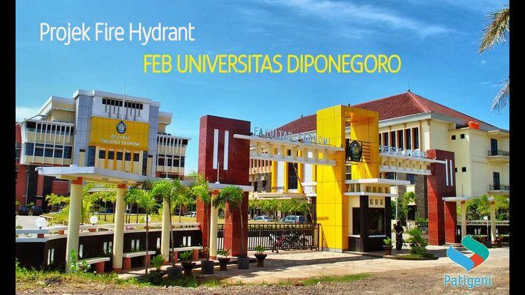 Instalasi Fire Hydrant Fakultas Ekonomi Bisnis Undip