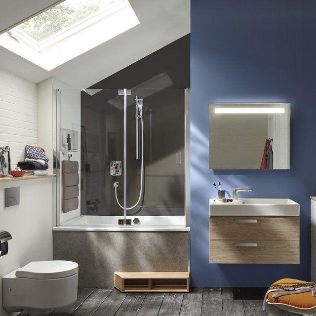 1000 id es sur le th me petite baignoire sur pinterest - Combine salle de bain ...