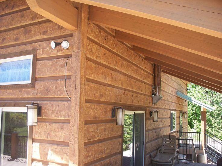 68 Best Everlog Siding Concrete Log Homes Images On