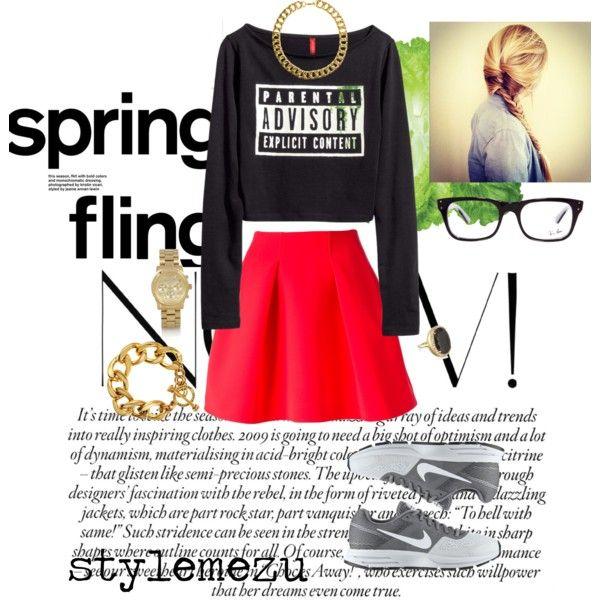 """""""Sport Style"""" by stylemezu on Polyvore"""