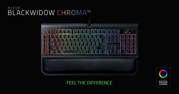 Razer BlackWidow V2 Chroma Keyboard Giveaway