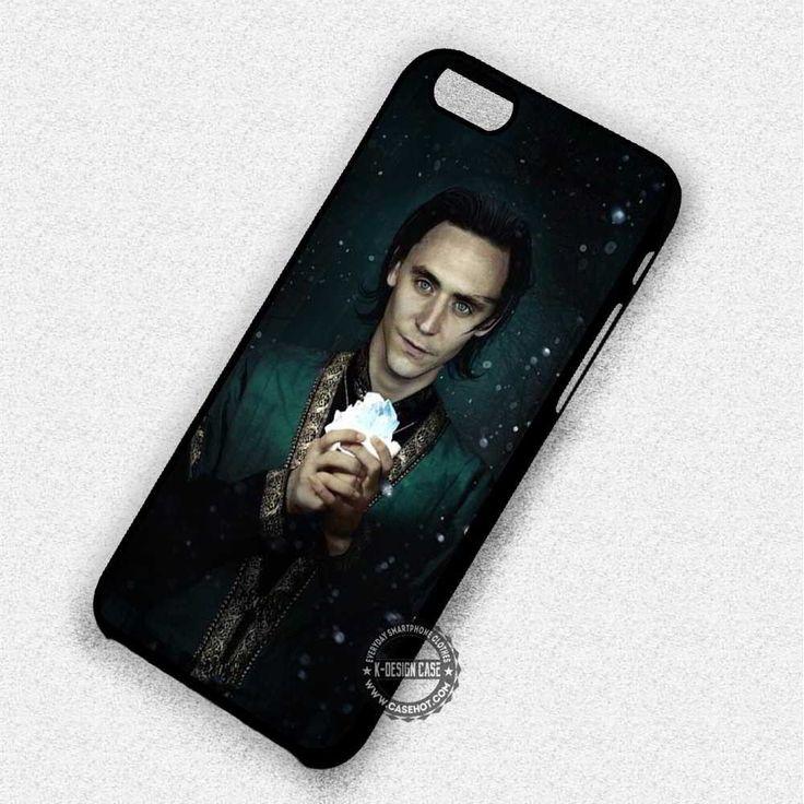 White Stone Tom Hiddleston Loki Movie - iPhone 7 6 5 SE Cases & Covers
