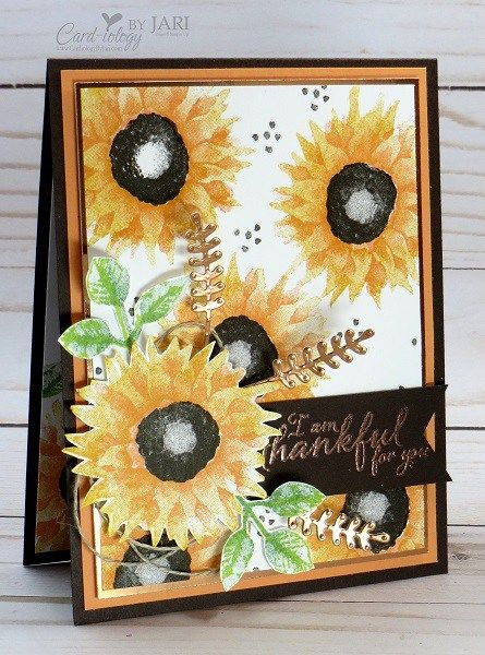 Stampin' Up! Painted Harves-Cardiology by Jari - SU - Painted Harvest stamp set