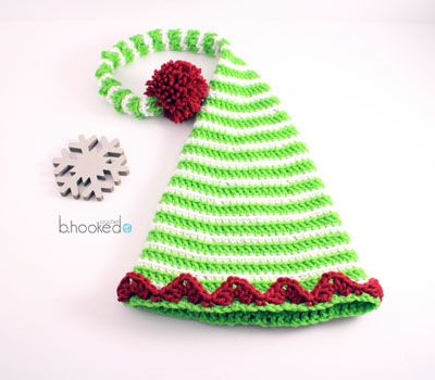 Knitted Sweater Patterns Free : 1000+ ideas about Elf Hat on Pinterest Crocheting, Crochet Hats and Crochet...