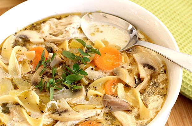 The Best Chicken Noodle Soup You'll Ever Eat! -Once a month, on a Sunday afternoon you'll find me in my kitchen busily making soup. This isn't just any soup... it's the best chicken noodle soup y...