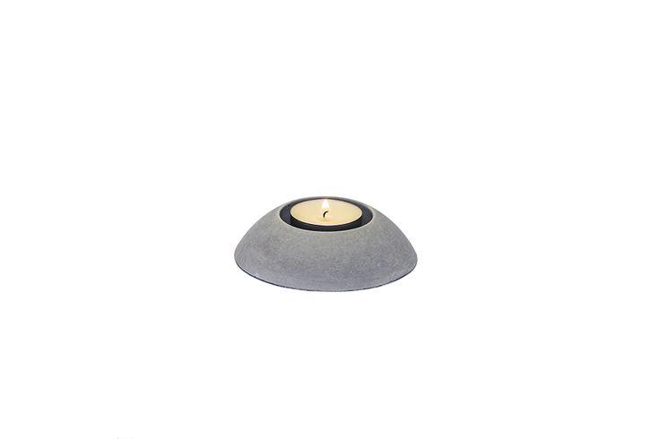 Świecznik GLOW z betonu