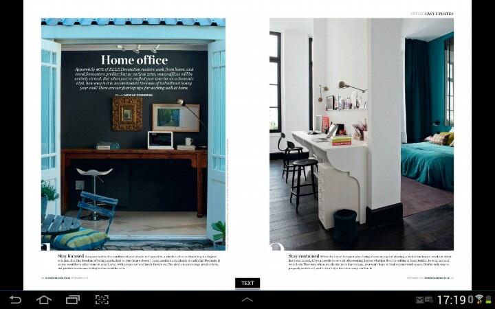 Elle Decoration- Home Office
