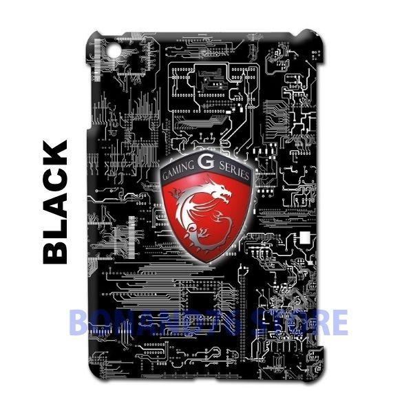 Ipad 2 / Ipad Mini 2 Back Case Customize Design Gaming Board Circuit Black/Red #Generic