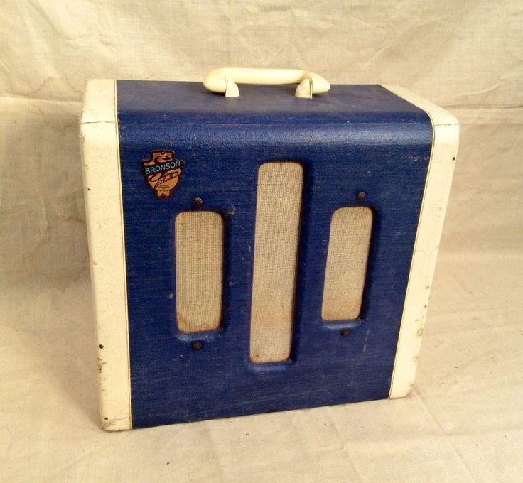vintage 1952 bronson singing electric tube guitar amplifier national valco 50 39 s vintage. Black Bedroom Furniture Sets. Home Design Ideas