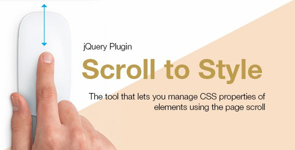 awesome Scroll to Style jQuery Plugin (Miscellaneous)