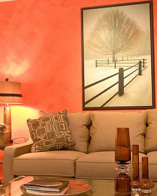 49 best Orange Living Room images on Pinterest Orange living