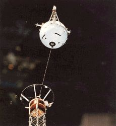 Tethered Satellite System 1 (TSS-1) mission   Launch Date: 1992-06-26
