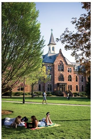 Seton Hall University, President's Hall and The Green