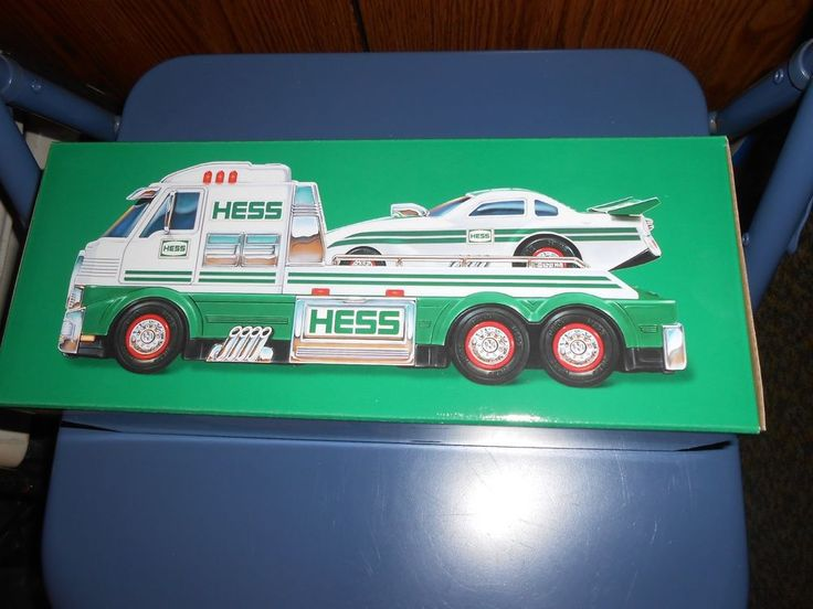 2016 HESS Toy Truck and Dragster - Limited Edition - Brand New