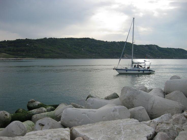 Obiettivo Pesaro: il mare in una tranquilla domenica novembrina http://vivere.biz/abAG