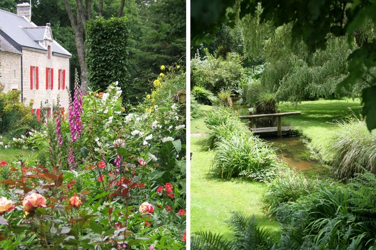 entre jardin paysager et jardin d'ombre