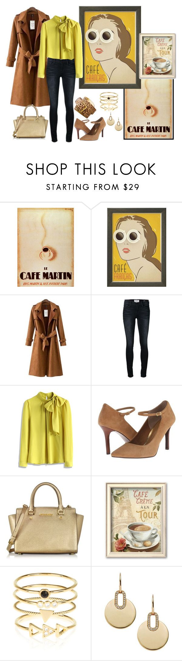 """""""Untitled #92"""" by cpearlz on Polyvore featuring Chicnova Fashion, Frame Denim, CAbi, Chicwish, Lauren Ralph Lauren, Michael Kors, Accessorize, outfit, fab and WhatToWear"""