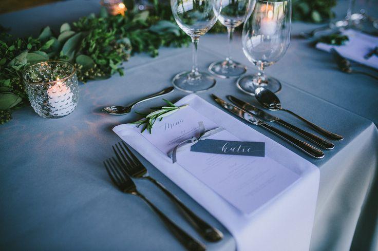katie and dan wedding   jennifer bianca calligraphy   divine weddings (planning), stonehouse creative (florals), kamp photography
