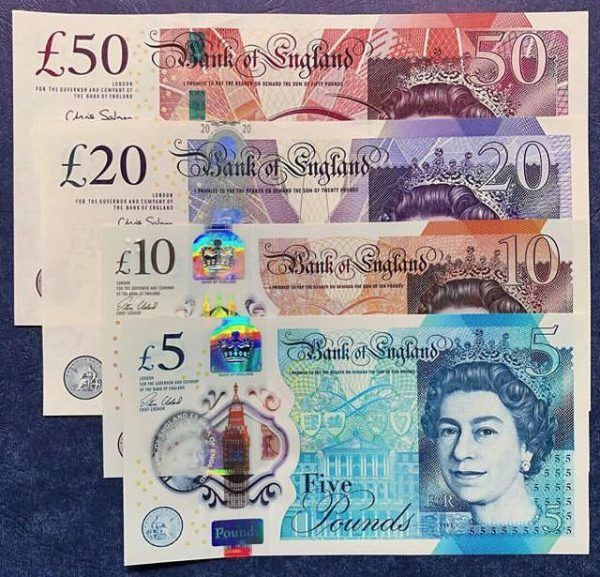 British Pounds Counterfeit Money In