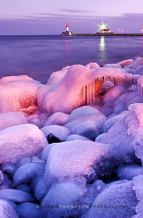Winter in Duluth, Minnesota