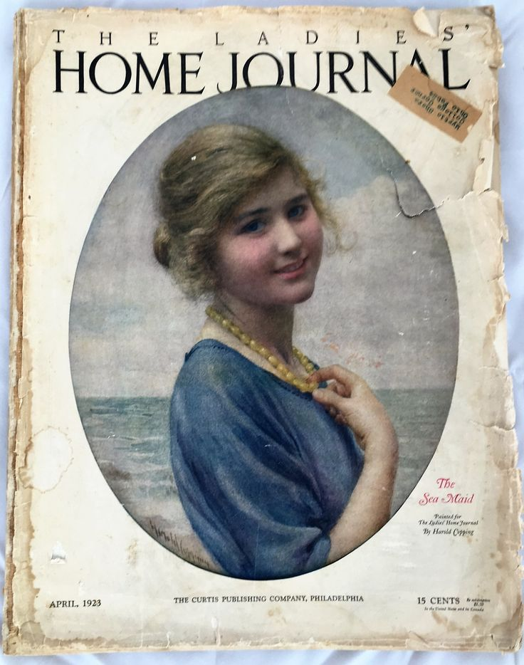 1. Ladies' Home Journal was considered a bible by many women. John Curry describes the importance his mother put on the magazine and how much his mother took every piece of advice applicable to her own life and used it accordingly.  The magazine was the first in history to reach a circulation of 1,000,000, truly depicting the breadth of its influence.  #LadiesHomeJournal