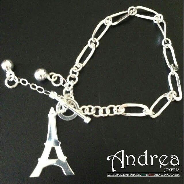 Pulsera Torre Eiffel