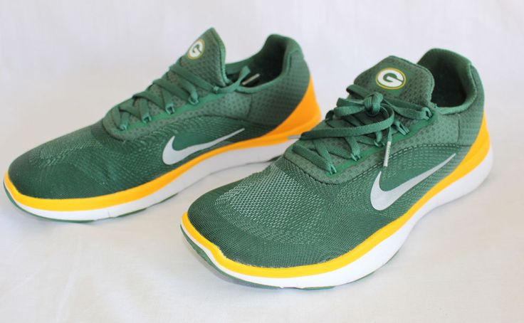 NEW Men's Nike NFL Free Trainer V7 Green Bay Packers Shoes Sneakers Athletic #Nike #RunningCrossTraining