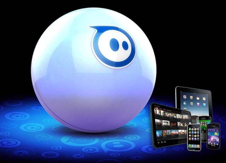 Roboter Kugel – Der erste App-fähige Spielball - bald erhältlich nur bei www.snap4u.ch