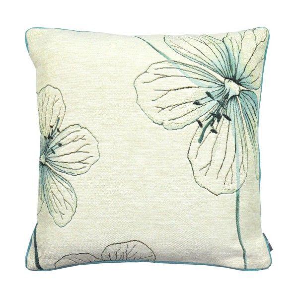 Cushion 3 Géraniums des prés, bleu - Coussins - Art de Lys