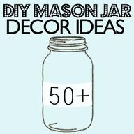 50 Mason jar craft DIY projects - Check this site out and you will be amazed at the many ways to use and decorate with these wonderful jars. Many I have seen before, but a few are new to me and cant wait to try out some of them. I see Mothers Day gifts and Christmas parent gifts for my classroom.