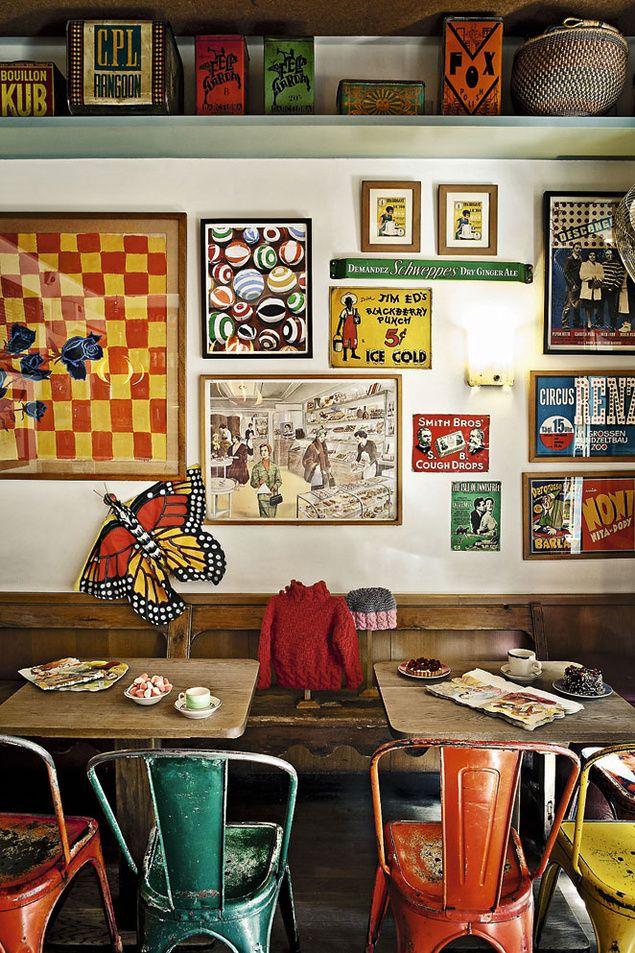 Delic Café - industrial vintage diner