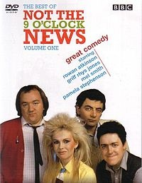 "Not the Nine O'clock News ran from 1979 to 1982 and launched the careers of Rowan Atkinson, Griff Rhys Jones, Robbie Coltrane, Mel Smith, and other British comedians. In an episode of the Young Ones, Robbie Coltrane plays ""Dr. Not the Nine O'clock news."" LOL"