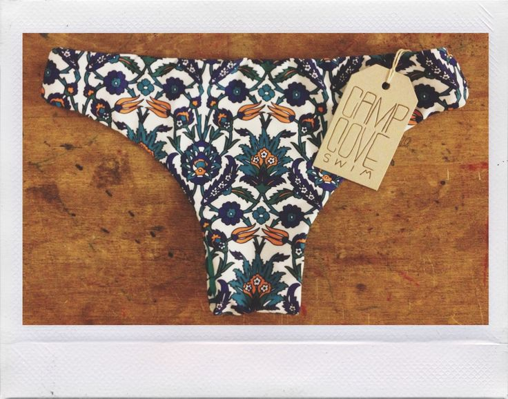 www.campcoveswim.com Heartbreaker bottoms in 'tile' print