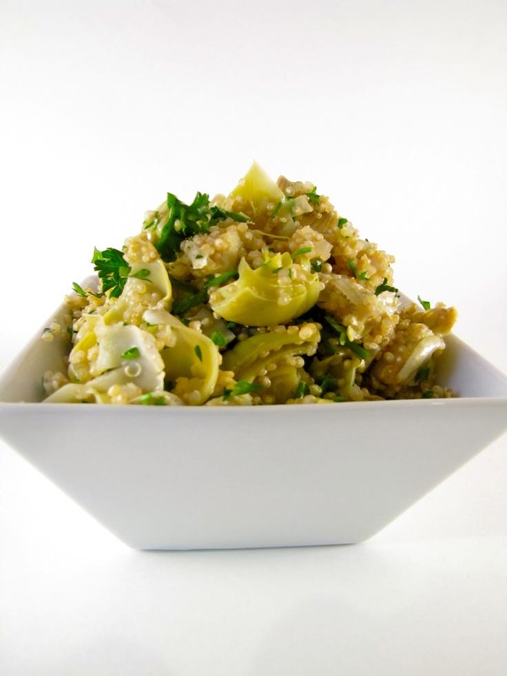 Quinoa salad, Artichokes and Quinoa on Pinterest