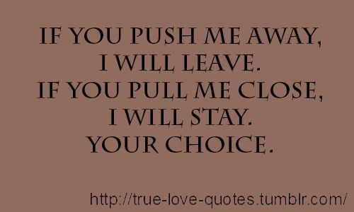 you pushed me away quotes - Google Search