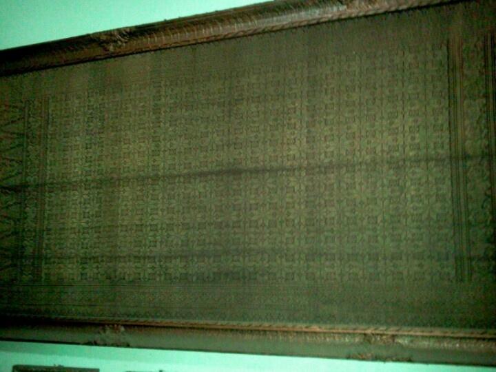 Songket Bengkulu...( 100 tahun )