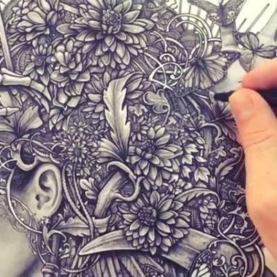 Artist: Christopher Lovell   ★★ More Amazing Tattoo Motifs  ★★ www.tattoo-spirit.de  .#tattoospirit #tattooscout #tattoostudio