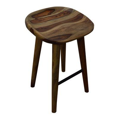Worldwide Home Furnishings 203-328 Wood 26-in Counter Height Stool
