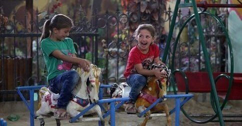 Underground amusement park gives Syrian children chance to play http://www.unicef.org/infobycountry/syria_93416.html?utm_source=unicef_news&utm_medium=rss&utm_campaign=rss_link&utm_source=rss&utm_medium=Sendible&utm_campaign=RSS
