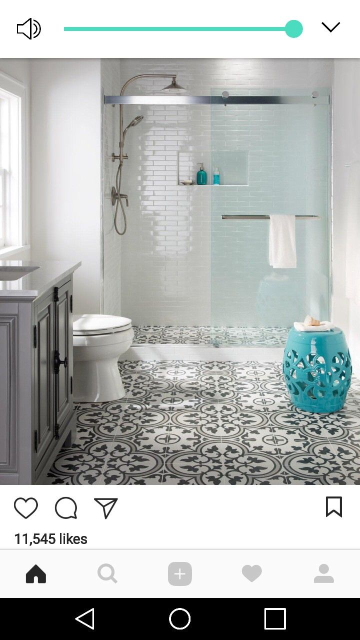 Pin By Selena Hahn On For The Home Bathroom Tile Designs Bathroom Remodel Master Small Bathroom Remodel