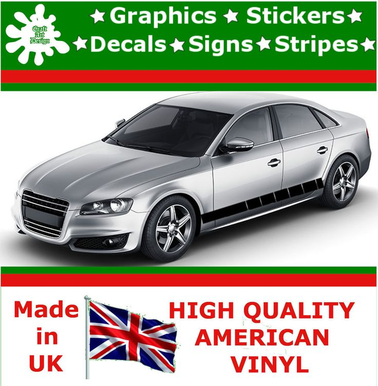 4 racing side stripes vinyl decal sticker car truck auto rally graphic up 10