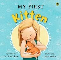 "Dr Lisa Chimes ""My First Kitten"". Book review with discussion. A great book to be using in your classroom for a topic about pets. Click to read more. Miss Jenny's Classroom: My First Kitten"