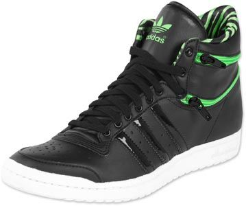 adidas baskets cuir top ten hi sleek femme