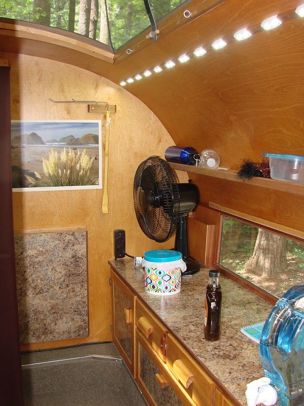 Teardrop Trailer With Bathroom: Best 25+ Teardrop Trailer Interior Ideas On Pinterest