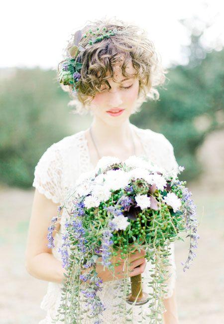 natural color bouquet